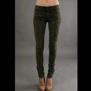Free people corduroy pants -size 23